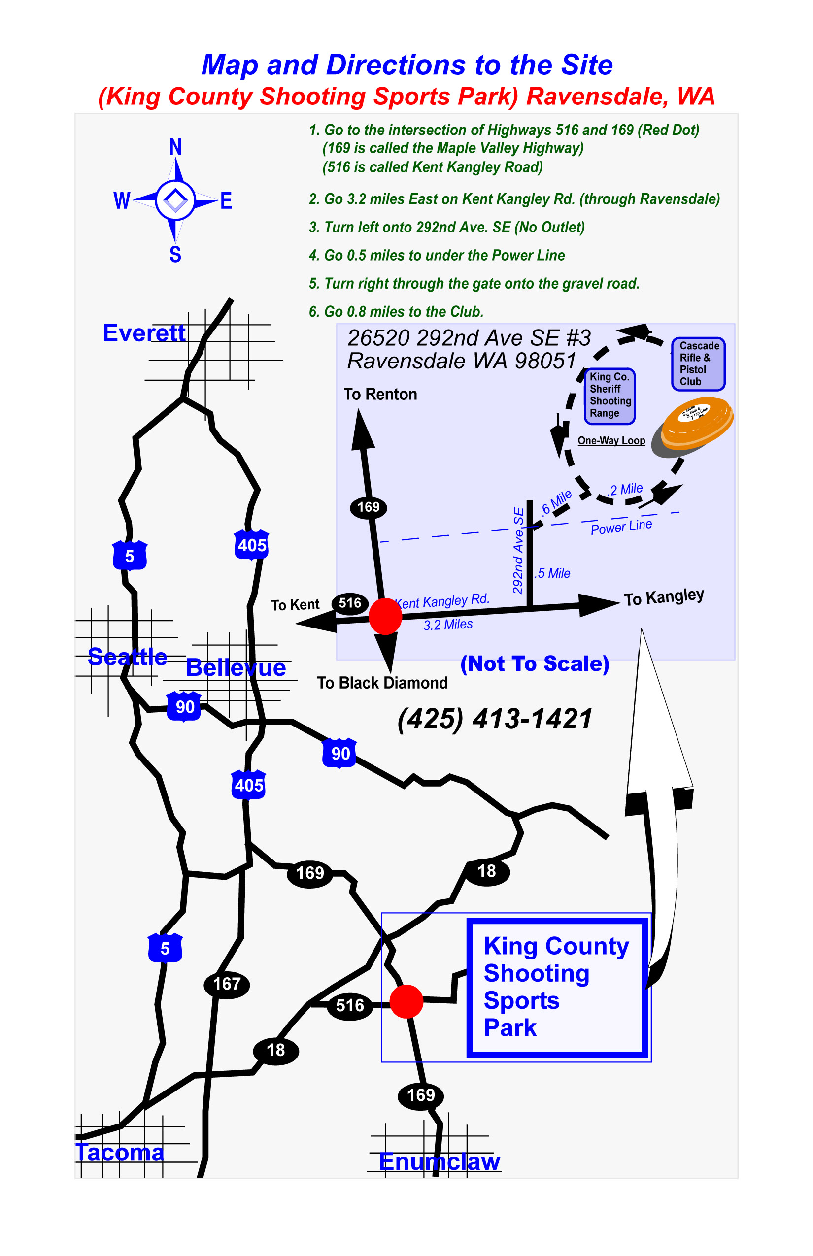 Directions To The Seattle Skeet